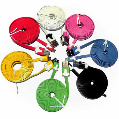 Flat Micro USB Cable for the Raspberry Pi - The Pi Hut   Raspberry Pi   Scoop.it