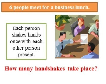 People meet for a business lunch   THE MORE YOU PRACTICE MATHS, THE MORE SURE YOU ARE!   Scoop.it