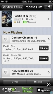 IMDb updates Android and iOS apps, lets US users buy movie tickets directly | Mobile Guru | Scoop.it