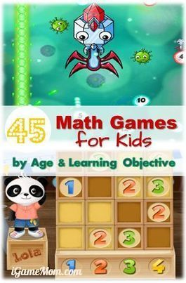 Cool Math Games for Kids – 45 Math Game Apps   Gamification and more!   Scoop.it