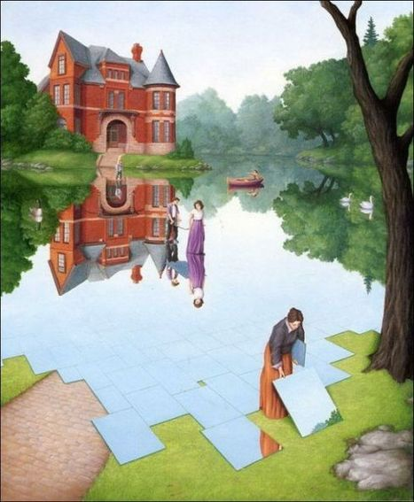 HitFull:15 Stunning and Amazing Painting illusions | Art photography | Scoop.it