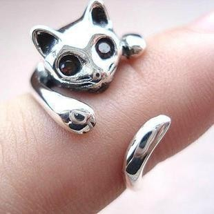 925 Sterling Silver Cat Ring | Fashion for all man kind | Scoop.it