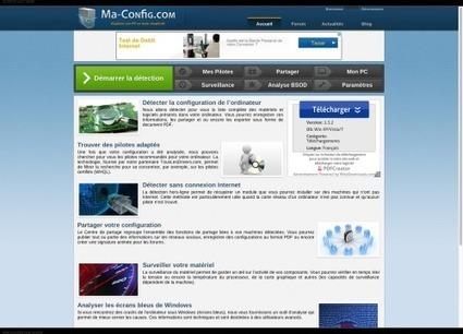 Ma-Config.com fait peau neuve et détecte mieux le matériel   Free Tutorials in EN, FR, DE   Scoop.it