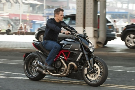 'Jack Ryan' First Look: Chris Pine Rides a Ducati | screencrush.com | Desmopro News | Scoop.it