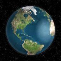Globe counter 3D   online visiter   Scoop.it