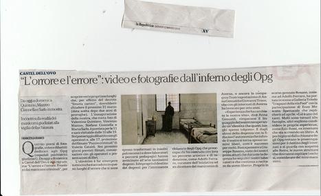 TeatrInGestAzione in mostra i video del lavoro teatrale per la mostra OPG l'errore l'orrore   teatringestazione   Scoop.it