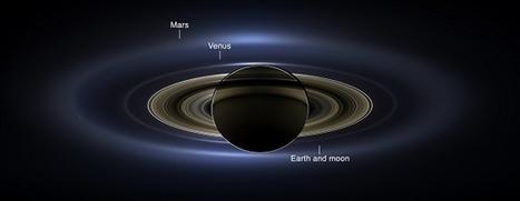 NASA's Cassini Captures Earth, Venus And Mars From Saturn | e-Development | Scoop.it