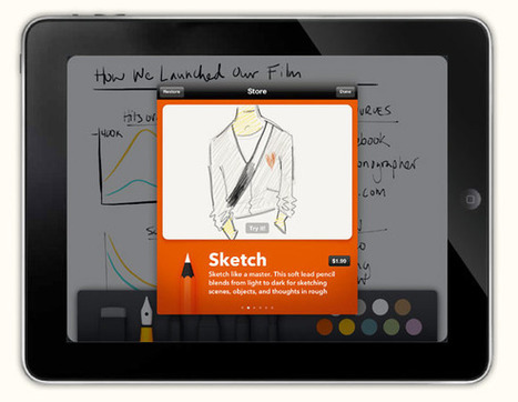 Paper: the iPad sketchbook app from the brains of Courier (video) | APPY HOUR | Scoop.it