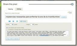 Cómo insertar una presentación Prezi en Wordpress.com | Creativa Escolar | Scoop.it