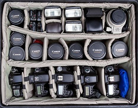 Para quem sonha com uma mala cheia de equipamentos fotográficos   ISO102400   Scoop.it