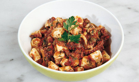 Late summer treat: Octopus with dried tomatoes | Italian Finest Food | Scoop.it