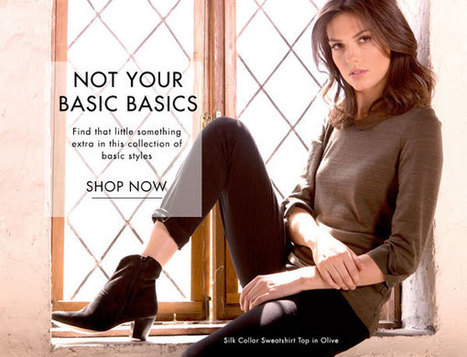 Not Your Basic Basics • Jigsaw Says Blog | Womens Fashion | Scoop.it