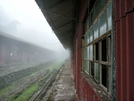 Paranapiacaba: Preserving a Haunting Railway Ghost Town in Brazil - Urban Ghosts Media | Urban Exploration | Scoop.it