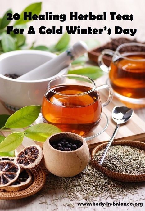 20 Healing Herbal Teas For A Cold Winter's Day   Time for a cuppa   Scoop.it