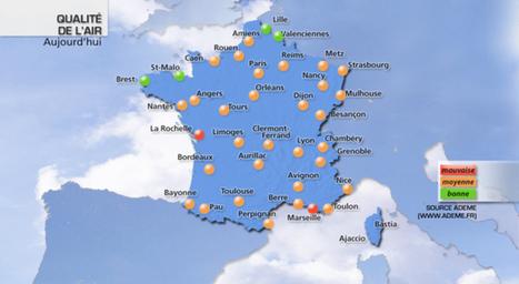 Chaleur et pollution : dégradation de la qualité de l'air | Toxique, soyons vigilant ! | Scoop.it