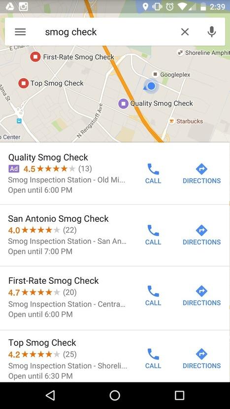 [Adwords] Diffuser des annonces ciblées sur les recherches à proximité sur GoogleMaps | Geeks | Scoop.it