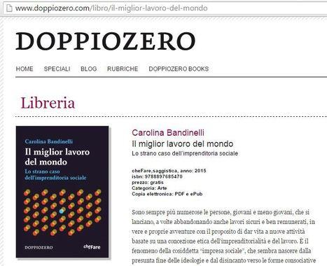 Il miglior lavoro del mondo - Lo strano caso dell'imprenditoria sociale   Carolina Bandinelli   Dolomiti di ieri e di oggi   Scoop.it