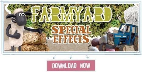 Free Download: Shaun the Sheep's Farmyard Film Kit   talkPrimaryAnimation   Scoop.it
