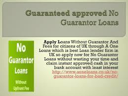 Loans For Bad Credit No Guarantor   Finance And Loans UK   Scoop.it