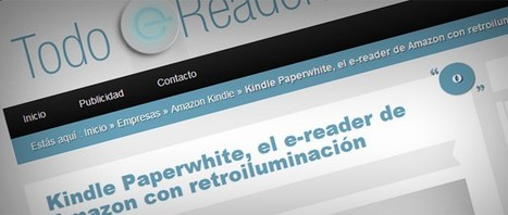 Nace Todo eReaders, un blog dedicado a los lectores de eBooks ... | Noticias de bibliotecas | Scoop.it