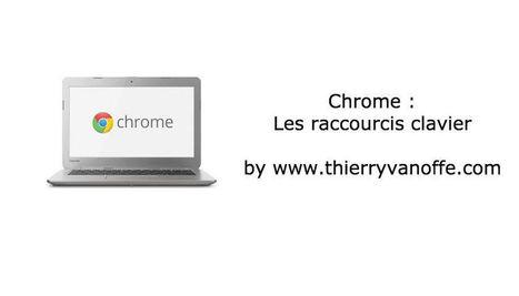 Chrome : les raccourcis clavier   Google Apps  (FR)   Scoop.it