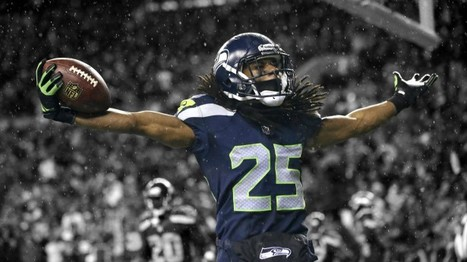 Sherman 'bombarded' after home address published | Sports Doc | Scoop.it
