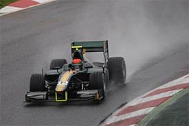 GP2: Rossi tops GP2 test at wet Barcelona   Motores   Scoop.it