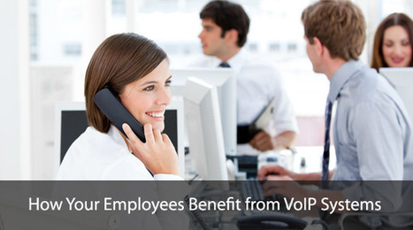 How Your Employees Benefit from VoIP Systems | TCS Canada | Business Telephone Systems | Scoop.it