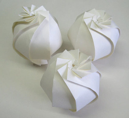 3D Origami by Jun Mitani | Made with (and of) Paper | Scoop.it