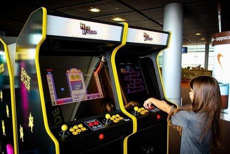 De véritables bornes d'arcade installées dans les aéroports d'Orly et Roissy | Geeks | Scoop.it