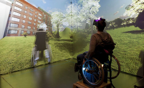 Affordable Virtual Reality Creates Worlds for People With Disabilities | KQED Future of You | KQED Science | Differentiated and ict Instruction | Scoop.it