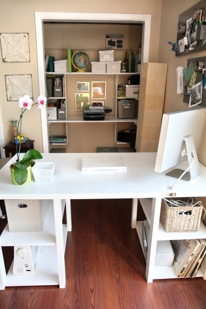 DIY Home Office Desk From An Old Door | Shelterness | Work, Home & Family Life | Scoop.it