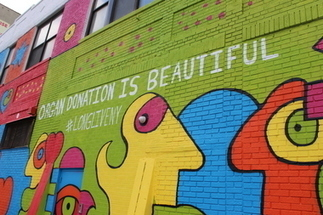 The South Bronx is Now Home to a Huge Organ Donation Mural | Organ Donation & Transplant Matters | Scoop.it