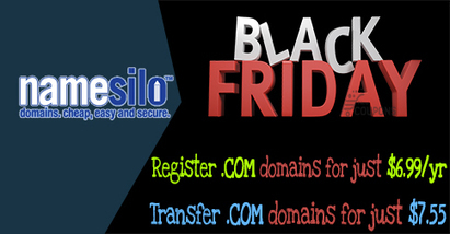 NameSilo Black Friday Coupons: Discount for .Com domains | THE BEST COUPON CODES | Scoop.it
