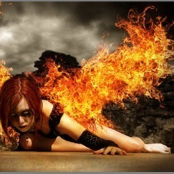 "Create an Intense ""Wings of Fire"" Photo Manipulation 