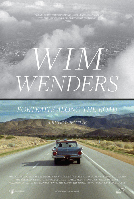 King Of The Road: Five Films You Need To See During Janus Films' Touring Wim Wenders Retrospective | Books, Photo, Video and Film | Scoop.it