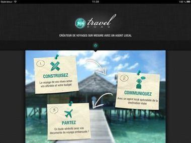 TravelRoad sort sa version iPad pour vous permettre de créer votre voyage sur mesure ! | E-tourisme et nouvelles tendances du Tourisme | Scoop.it