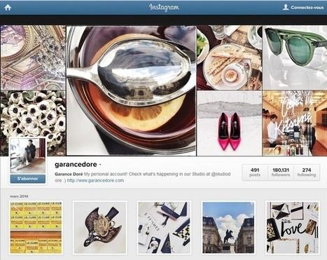 Instagram: les usages en France | social média  brand expérience | Scoop.it