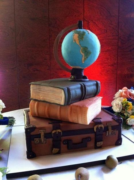 11 Cakes Shaped Like Books | License to Read | Scoop.it