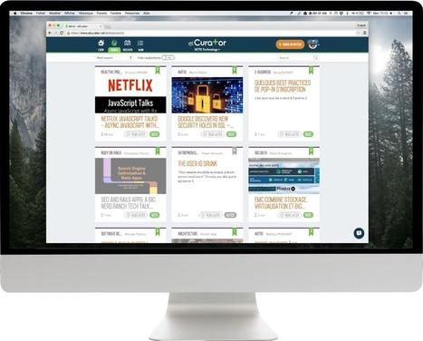 elCurator – Outil collaboratif de veille et de curation | CurationVS Veille | Scoop.it