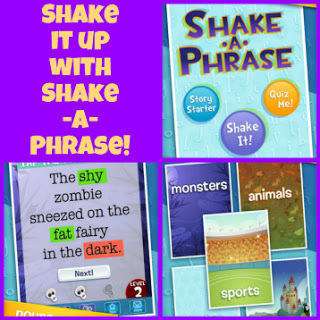 Children's iPad App, Shake-a-Phrase | Favourite iPad Apps | Scoop.it