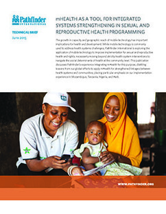 mHealth as a Tool for Integrated Systems Strengthening in Sexual and Reproductive Health Programming | Digitized Health | Scoop.it