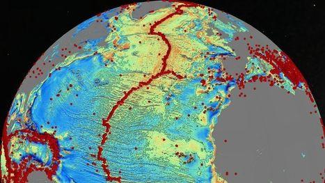 Une nouvelle carte des fonds marins | environnement, | Scoop.it