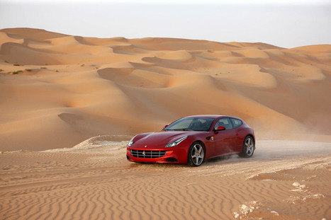 the ferrari FF: a V12 four seater with four-wheel drive - designboom | What Surrounds You | Scoop.it