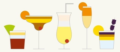 Your holiday drinks sorted: 78 delicious cocktail recipes, 1 glorious viz - Information Is Beautiful | Analytics & Data Visualization | Scoop.it
