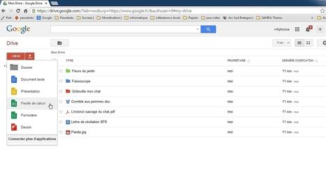 Gérez vos documents dans Drive | Google Apps au service des PME Antillaises | Scoop.it