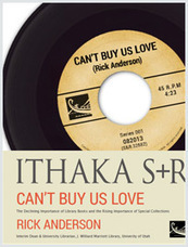 """""""Can't Buy Us Love:"""" Rick Anderson kicks off new Ithaka S+R Issue Briefs series 