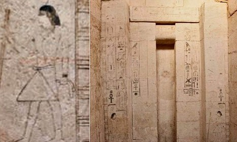 Secret tomb belonging to Ancient Egyptian 'Priest of Magic' discovered - Daily Mail | Ancient Egyptian World | Scoop.it