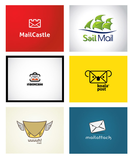 40 Inspirational Mail Logo Designs | Smashfreakz | Looks -Pictures, Images, Visual Languages | Scoop.it