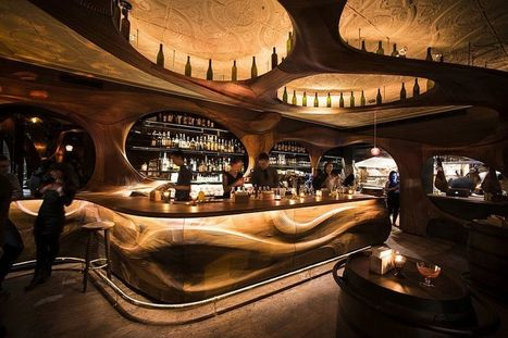 Bar Raval Toronto: Art Nouveau Meets Intoxicating Design in Sculpted Mahogany! | Inspired By Design | Scoop.it